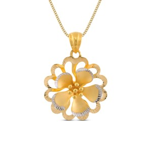 Bruna Gold Pendant