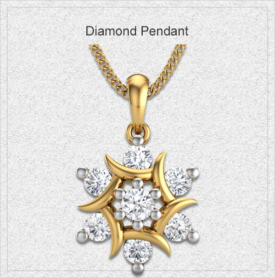 Diamond-pendant