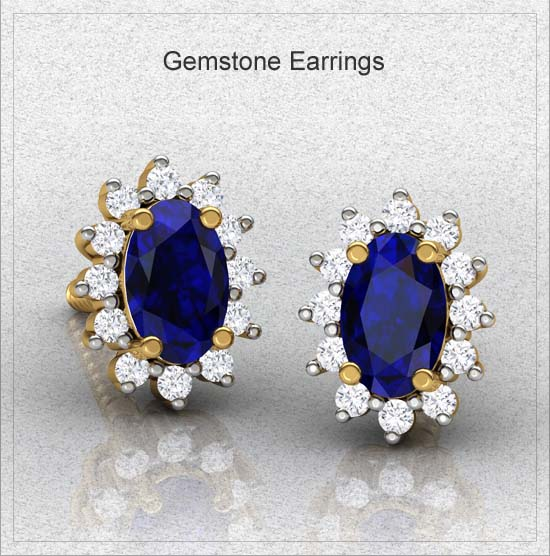 gemstone-earrings